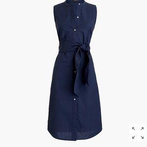 J Crew poplin dress